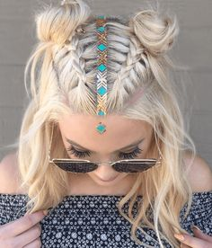 Whether you're heading to Glastonbury or Secret Garden Party, now's the chance to up your hair game with these festival-perfect plaits. | All Things Hair - From hair experts at Unilever