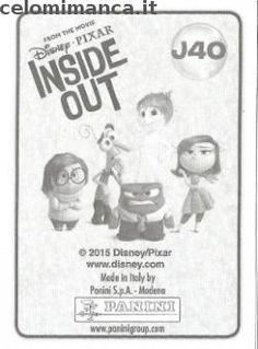 Inside Out: Retro Figurina n. J40 E – Triste