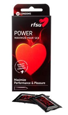 Power inneholder L-arginin som øker blodgjennomstrømningen og kan forsterke ereksjonen og øke den seksuelle nytelsen. Kan gi en mer intens opplevelse for begge parter!