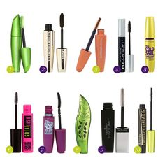 The TOP 10 Best Drugstore Mascaras - awesome list! | Makeup And ...
