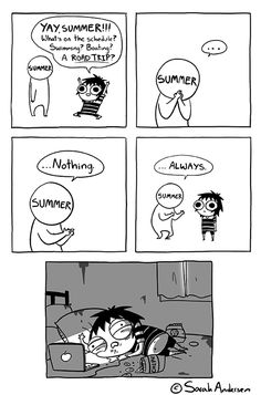 Anybody who's familiar with the comics of Sarah Andersen will know how perfectly they summarize the daily struggles of modern life especially when it comes to Sarah Anderson Comics, Sara Anderson, Cute Comics, Funny Comics, Saras Scribbles, Sarah See Andersen, Australian Style, The Awkward Yeti, Funny Jokes