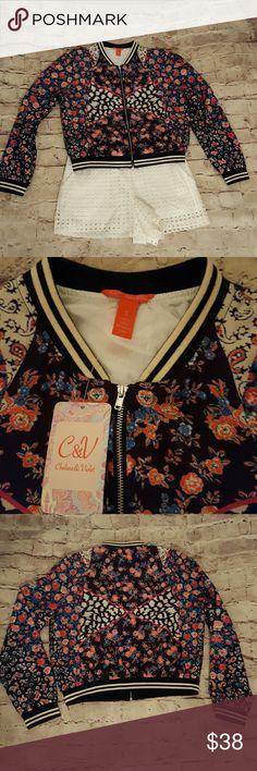 Chelsea & Violet jacket Juniors jacket with zipper & 2 pockets. Black, blue, red, orange & white details Chelsea & Violet Jackets & Coats