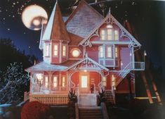 Coraline's House. Wow is all I can say great set design!!!