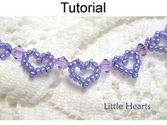 Beading Pattern Heart Bracelet Beading by SimpleBeadPatterns Jewelry Patterns, Bead Patterns, Beads And Wire, Beaded Ornaments, Beading Tutorials, Bracelet Making, Bracelet Peyote, Heart Bracelet, Heart Jewelry