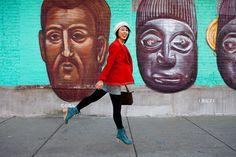 Kimberly Ovitz blazer. Swedish Hasbeen boots. Lani Nguyen of Sugar Rock Catwalk. James Rand photography