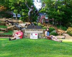 The Tyler Children's Park  Take a picture at your favorite places around town to show your Tyler, Texas pride!