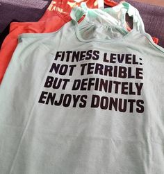 The funniest tanks ever... the only thing to workout in!!