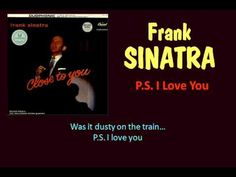 Sinatra from his 50s album CLOSE TO YOU. This is a sweet, intimate note from a lonesome husband. And it starts to explain why Frank was every other singers' favorite.