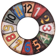 CLOCK FACE Diy Clock, Clock Decor, Diy Home Crafts, Crafts To Make, Wall Clock Dial, Clock Clipart, Clock Face Printable, Clock Numbers, Cute School Supplies