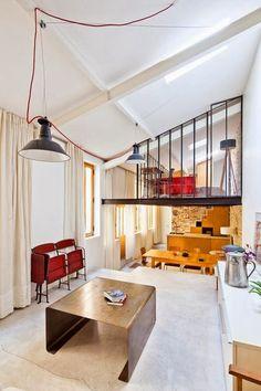 Un loft di 50 mq a Parigi