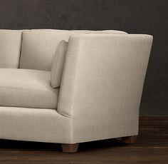 Belgian Shelter Arm Upholstered Sleeper Sofa