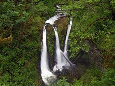 Triple Falls Hike - Hiking in Portland, Oregon and Washington (Triple Falls, East Crown Point Highway, Cascade Locks, OR 97014)