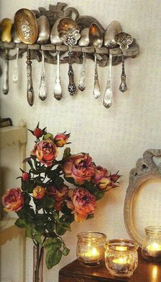 Antique spoon collection and more....