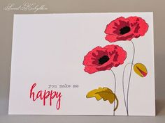 altenew painted poppy layers - Google Search