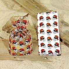 Cellophane Pirate Bags ~ Designed 2B Sweet