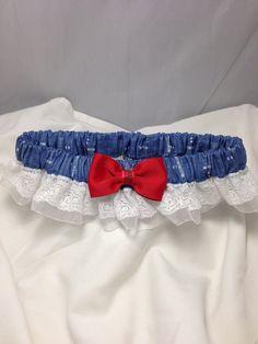 Custom Doctor Who Blueprint Tardis prom or wedding garter on Etsy, $20.00