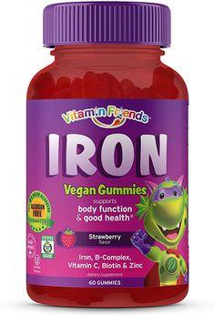 Vitamins For Anemia, Vitamins For Vegetarians, Vitamins For Kids, Iron Vitamin, Vitamin C, Best Iron Supplement, Vegan Gummies, Toddler Stuff