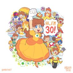 Can you believe it's been 30 years already since Super Mario Land, the game that introduced her, has been released? How time flies… TheBourgyMan 🎨🖌 Super Mario Princess, Super Mario Land, Nintendo Princess, New Super Mario Bros, Luigi And Daisy, Mario And Luigi, Mario Kart, Yoshi, Honest Baby Products