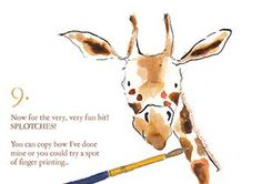 How to draw a giraffe: 9