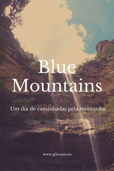Um dia nas Blue Mountains (Montanhas Azuis) #BlueMountains #Australia #Sydney #NSW
