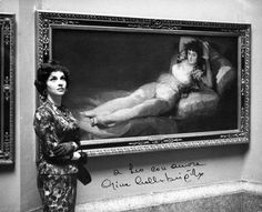 0736 Gina Lollobrigida at Prado Museum (1958)