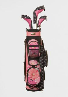 Check out our Siesta Key Sassy Caddy Ladies Golf Cart Bag! Find the best golf accessories at #lorisgolfshoppe Click through to own this golf bag!
