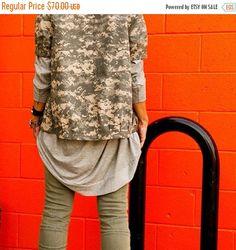 New to BabooshkaBoutique on Etsy: 25% SALE - NEW COLORS - Babooshka Oversized Asymmetrical T Shirt Dress (52.50 USD)