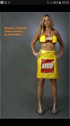 Femme Lego