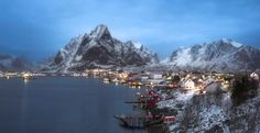 Reine, the most beautiful place in Lofoten by Andrey Chabrov - Photo 132648219 - 500px