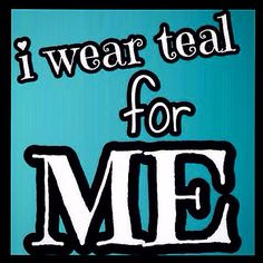 Teal for scleroderma! Raising awareness.