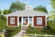 Energy Efficient and Environmentally Friendly - 20116GA | 1st Floor Master Suite, Butler Walk-in Pantry, CAD Available, Cottage, PDF, Southern, Vacation | Architectural Designs