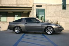 Mitsubishi Starion. Like it in this color.