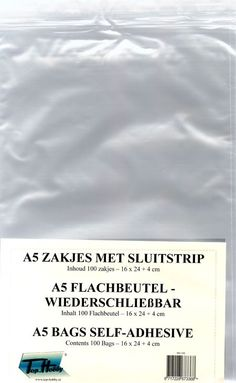 Nieuw bij Knutselparade: 1RC2 Transparante A5 Kaart Zakjes per 100 (16x24cm) https://knutselparade.nl/nl/papier-en-karton/8638-1rc2-transparante-a5-kaart-zakjes-per-100-16x24cm.html   Papier en karton, Enveloppen, Scrapbook, Scrapbook Albums/Papier, Rechthoekige Enveloppen, Cadeau Verpakkingen -