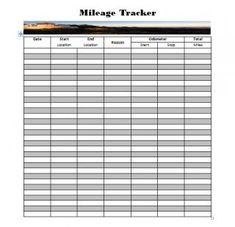 vehicle usage log template