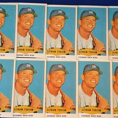 Free shipping. Mickey Mantle New York Yankees lot (10) 1954 Red Heart reprint Baseball Cards · Mickey Mantle New York Yankees lot… $9.99. Free shipping. Mickey Mantle New York Yankees 1954 Red Heart reprint Baseball Card Free Ship   Sports Mem, Cards & Fan Shop, Sports Trading Cards, Baseball Cards. #BaseballCards #baseballcard #Baseball #Cards #Sports #Deals #Collectibles #gifts