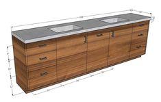 Master Bath Vanity, Vanity Sink, Bath Vanities, Wood Sink, White Tiles, Shower Tub, Wall Tiles, Rustic Wood, Homestead
