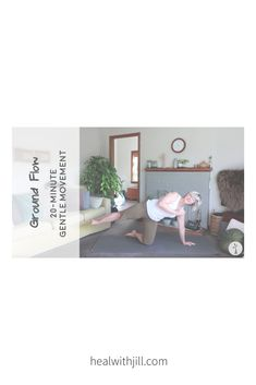 20-minute gentle movement Yoga Movement, Pilates, Furniture, Home Decor, Pop Pilates, Decoration Home, Room Decor, Home Furnishings, Home Interior Design