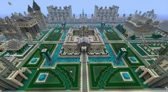 Amazing Minecraft City and Garden