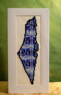 Olia Bseiso - Stained Glass, Wood Burning, and Embroidery Mini Cross Stitch, Cross Stitch Cards, Cross Stitch Alphabet, Cross Stitching, Cross Stitch Embroidery, Hand Embroidery, Cross Stitch Patterns, Embroidery Designs, Palestine Flag