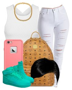 """."" by trillest-queen ❤ liked on Polyvore featuring Jonathan Simkhai, MCM, NIKE, women's clothing, women's fashion, women, female, woman, misses and juniors"