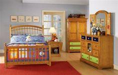 Bearrific Medium Brown Wood Glass Bureau