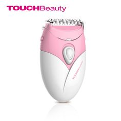 TOUCHBeauty flexible electric shaver pivoting cutter head integrated with the dentate blade and net blade super ergonomic shaver