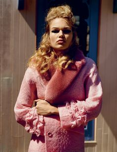 visual optimism; fashion editorials, shows, campaigns & more!: anna ewers, john waters and mink stole by alasdair mclellan for i-d summer 2015