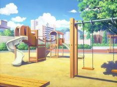 Image result for anime playground