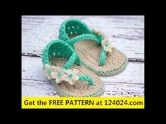 Tutorial How to Crochet Crocodile Baby Sandals By, Havoc Mayhem Creations - YouTube