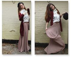 Maxi Skirts Outfit