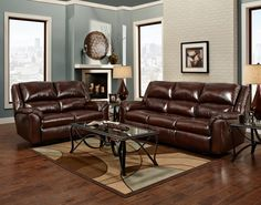 Jacob Reclining Sofa And Reclining Loveseat Set | HOM Furniture