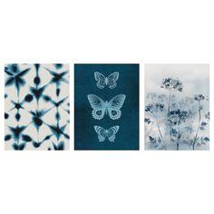 IKEA BILD Poster Blue butterflies 30 x 40 cm Motif created by Maja Gunnarsdottir, Rufus Coltrane, Kristine Hegre. Ikea Inspiration, Block Out Curtains, Ikea Usa, Ikea Family, Ikea Home, Design Your Life, Coordinating Colors, Blue Butterfly, Cadre Photo