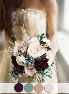 Eggplant & Sage Color Palette - Gorgeous Fall Wedding Ideas For Your Special Day - Photos