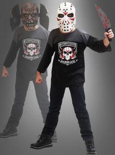Psychokiller Hockeymaske und Shirt